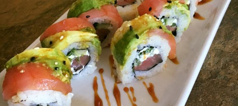 Sushi at Fire Fly – Paradise Roll
